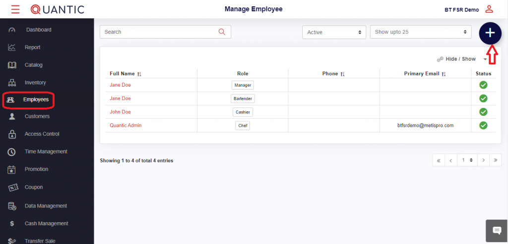 Add Pay Rate for Employees